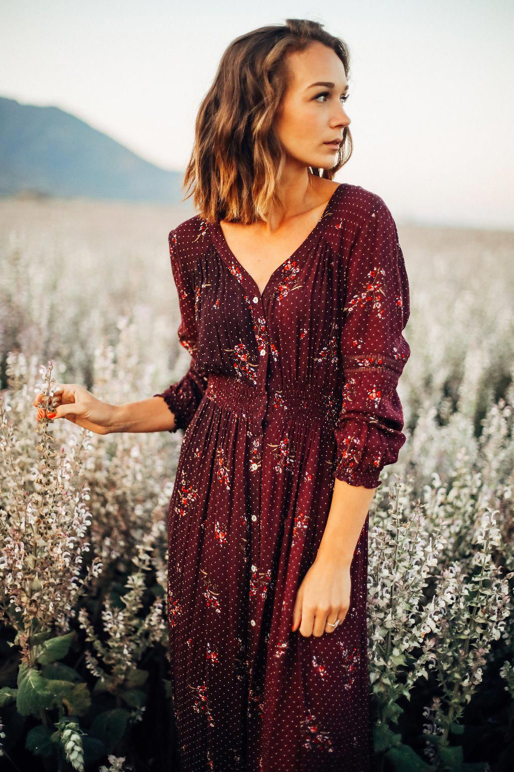Clothes Country for women forecast dress in winter in 2019