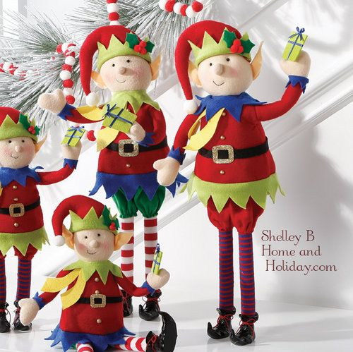 Large Selection Of Raz Imports Decorations Ornaments And: Christmas Elf Decorations By RAZ Imports