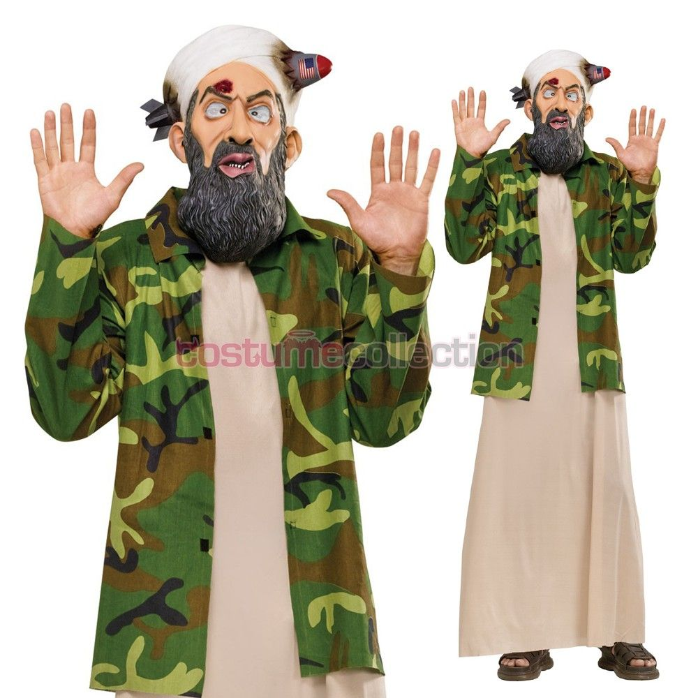 Funny Osama Most Wanted Adult Costume | Halloween | Pinterest ...