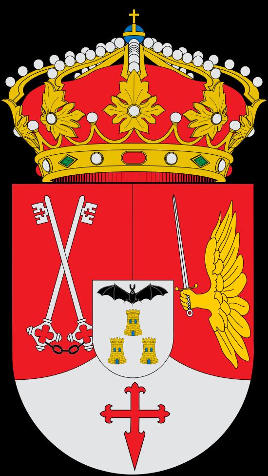 Escudo de la Provincia de Albacete - España. La Provincia de Albacete es una de las cinco provincias españolas que componen la comunidad autónoma de Castilla-La Mancha, y su capital es la ciudad de Albacete. Con una población de 400 007 habitantes a 1 de enero de 2013, ocupa el puesto 35 entre las provincias por su población, abarcando más de la mitad de la provincial el Área metropolitana de Albacete.
