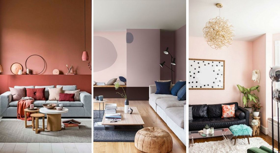 Chaleureux Idee Deco Petit Salon Cosy En 2020 Peinture Salon
