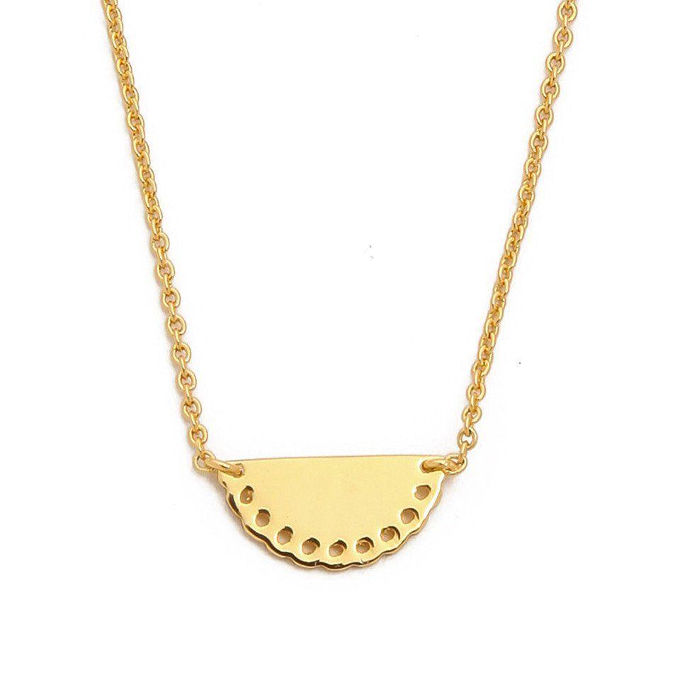 Shwe Half Moon Necklace