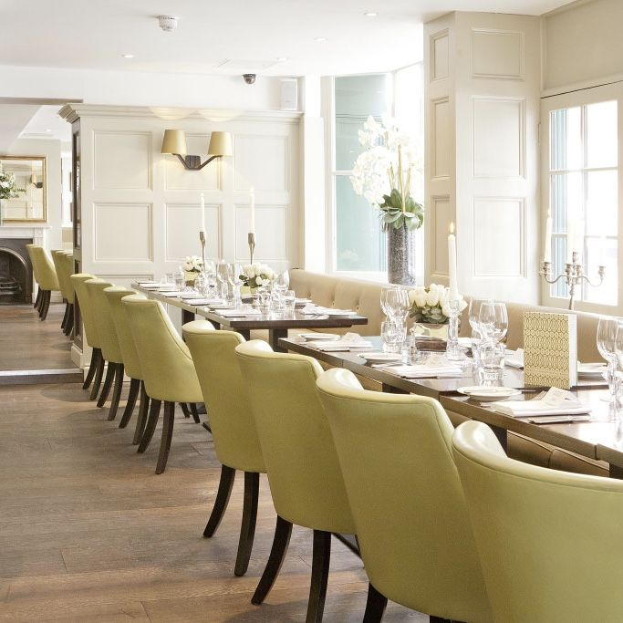Chiswell Street Dining Rooms Is A Modern British Restaurant And Adorable The Chiswell Street Dining Rooms Decorating Inspiration