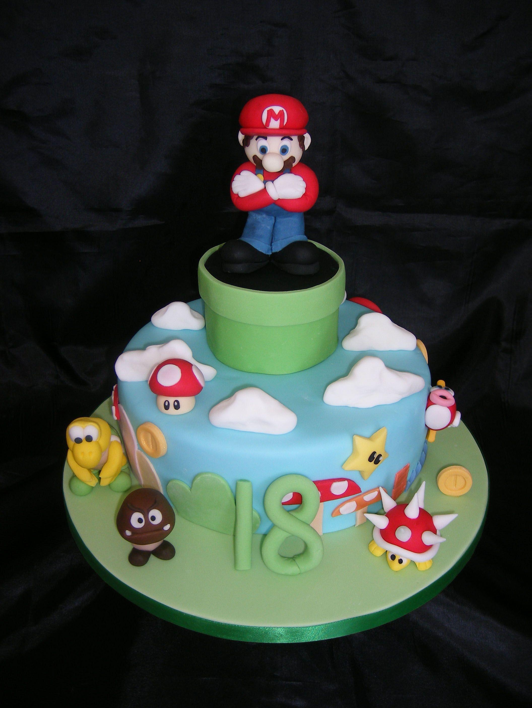 Super Mario Cake — Children's Birthday Cakes Super mario