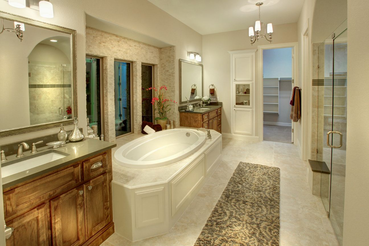 Lakeside DFW model home in Flower Mound, Texas master