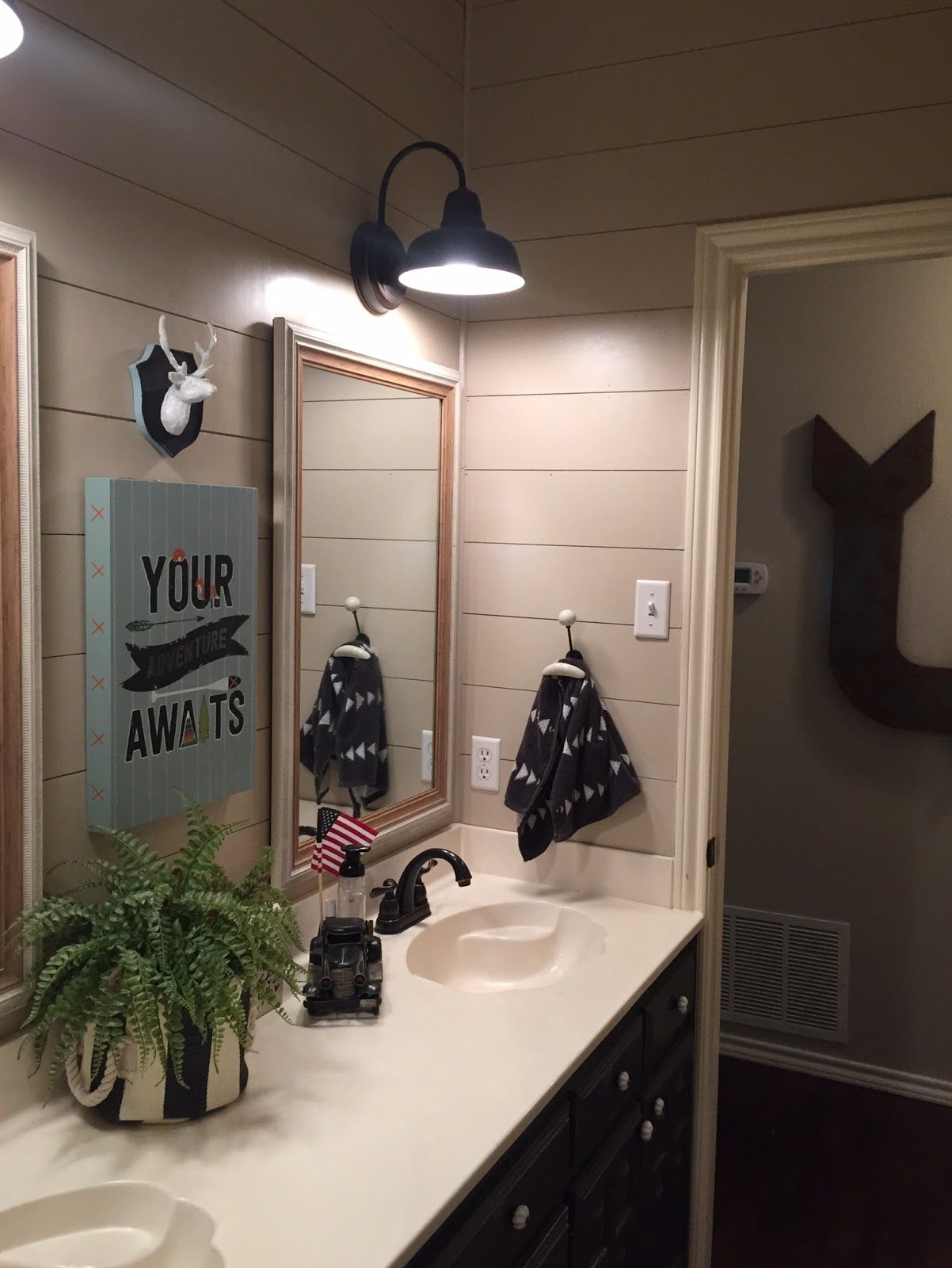 Image Result For Mix Shiplap And Wainscoting In Bathroom
