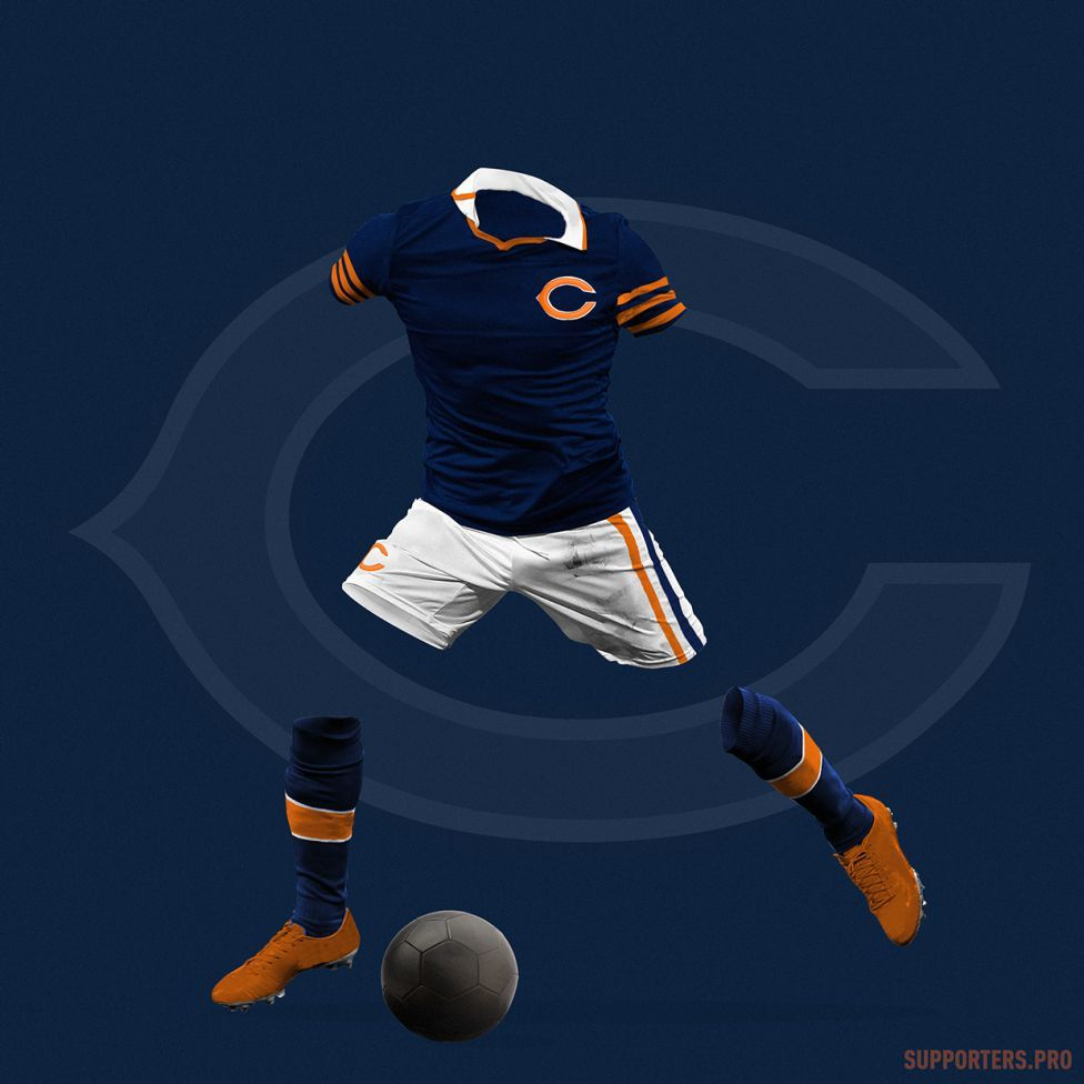 Chicago Bears | tatuajes | Pinterest | Buzo, Uniformes y Camisetas