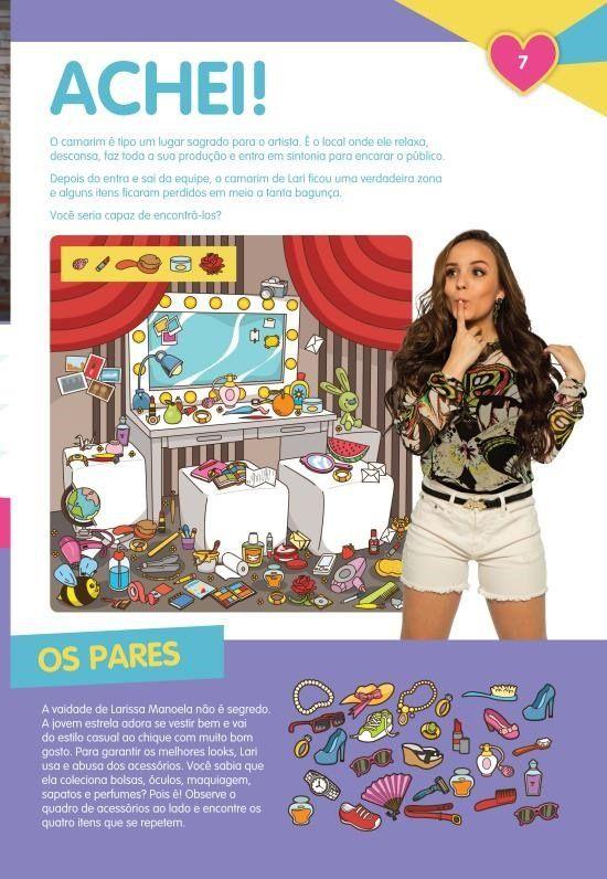 27a88eecfb721 Larissa Manoela - A Trajetória da Estrela Em Jogos e Atividades ...