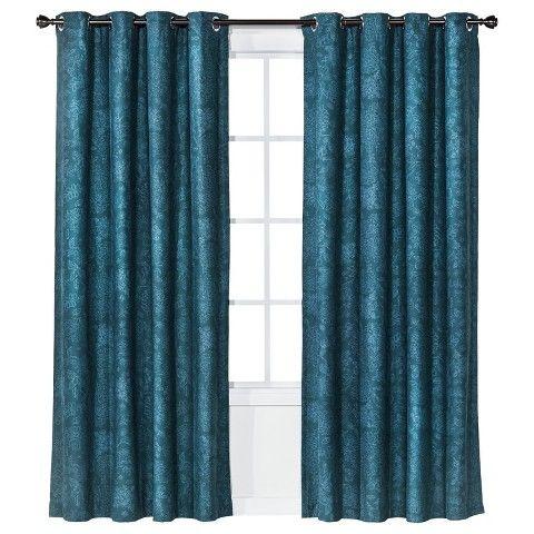 Threshold Grayson Grommet Toile Floral Window Panel