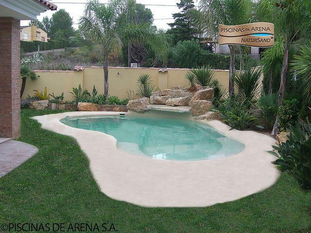 Piscinas de arena piscinas for Piscinas de arena compactada