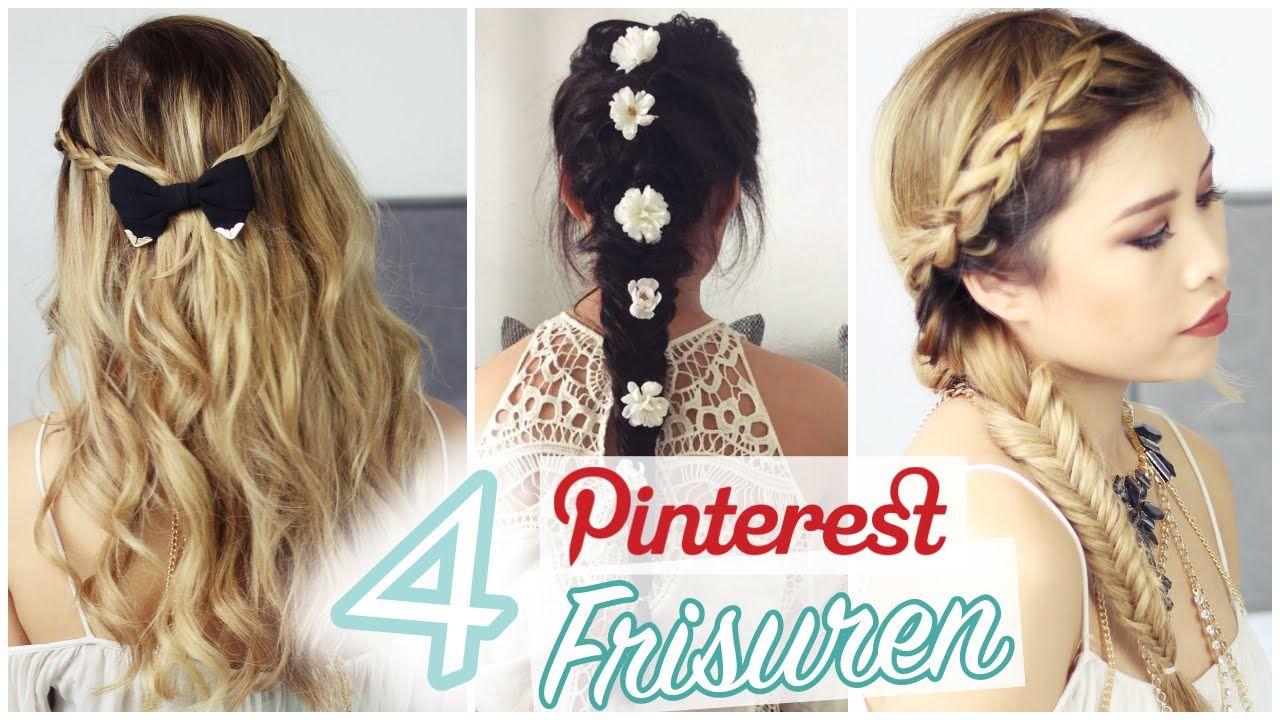 Pinterest Frisuren Fur Abiball Hochzeit Etc L Kisu Beauty
