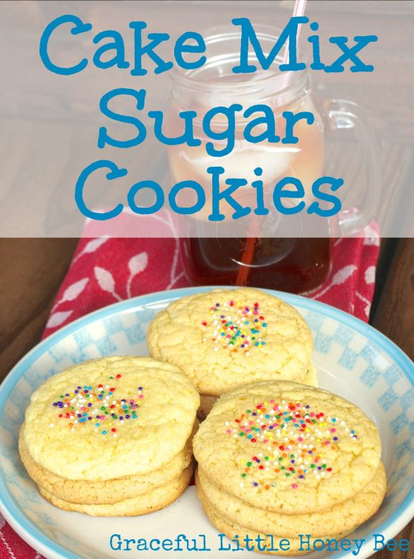 How To Make Gluten Free Cookies Using Funfetti Cake Mix