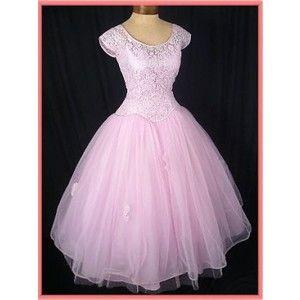 Vintage Dresses- 50's Prom Dress-Vintage Wedding Dress- 50s ...