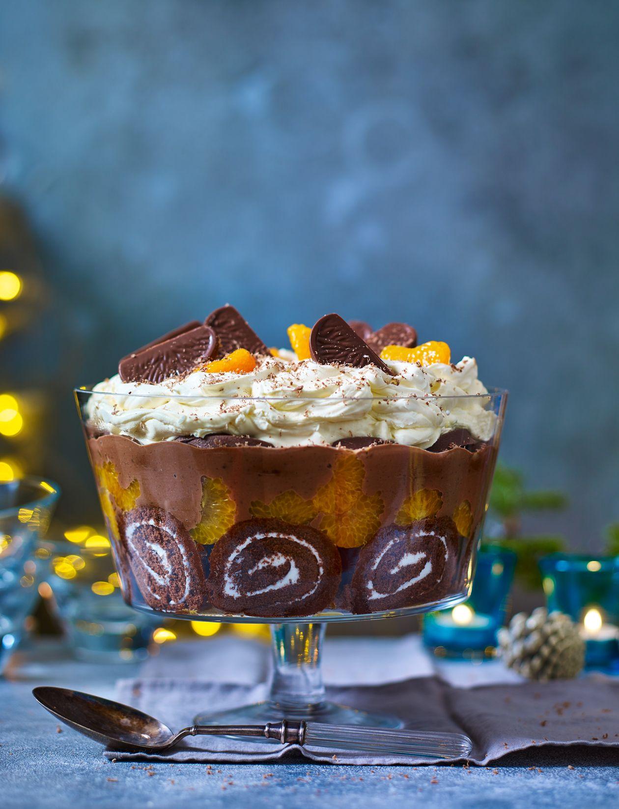 Terry S Chocolate Orange Trifle Recipe 05 Treats Pinterest