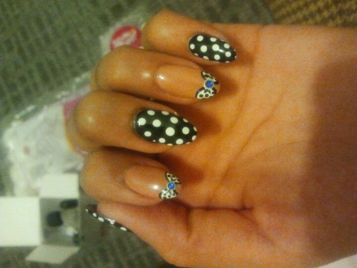Polka dots && bows