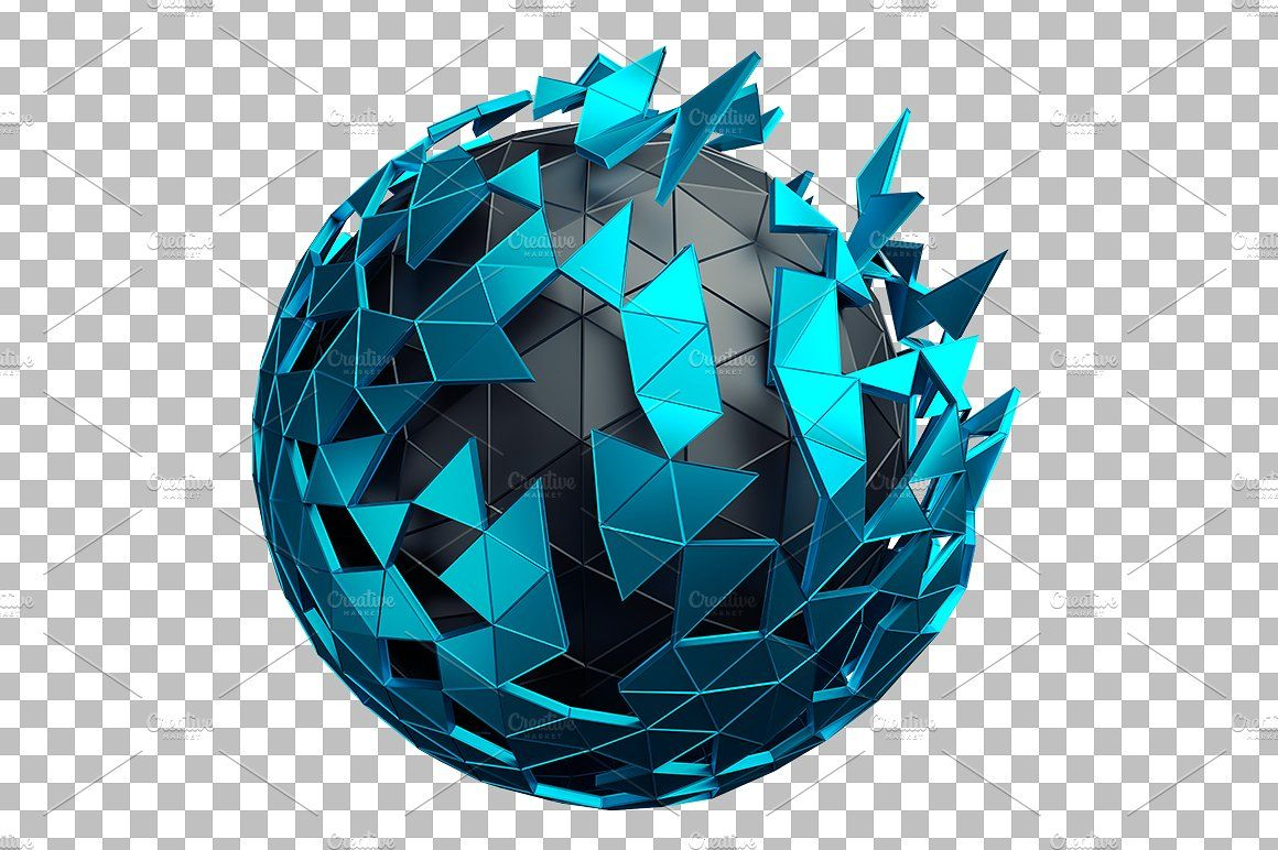 Abstract Spheres 3d Renders Graphic Design Art Abstract Art Clipart