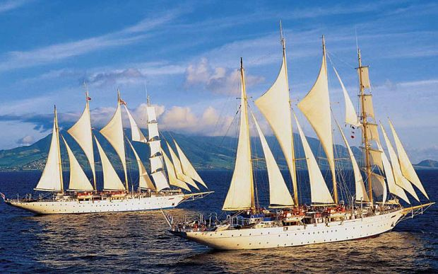 Worlds Largest Tall Ship Being Built By Star Clippers Cruises - Cruise ship jumper