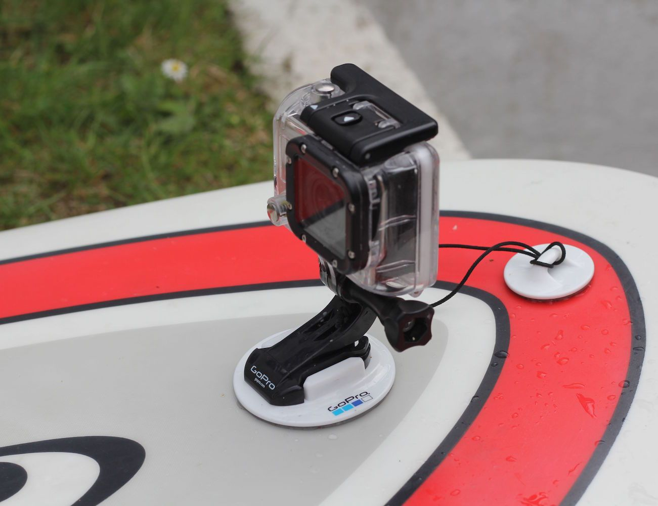 By using the #GoPro #Surfboard Mount, you can now make the most out of your water sports photoshoot.