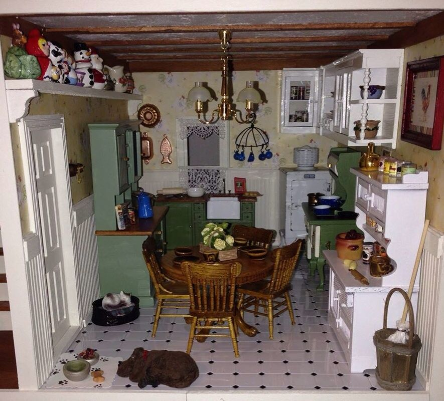 VERMONT SIDE CHAIR DOLL HOUSE FURNITURE MINIATURES