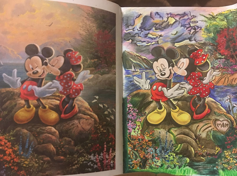 28 Things You Need If Your Only Plan For This Winter Is To Stay Inside Thomas Kinkade Disney Coloring Books Homesick Candles
