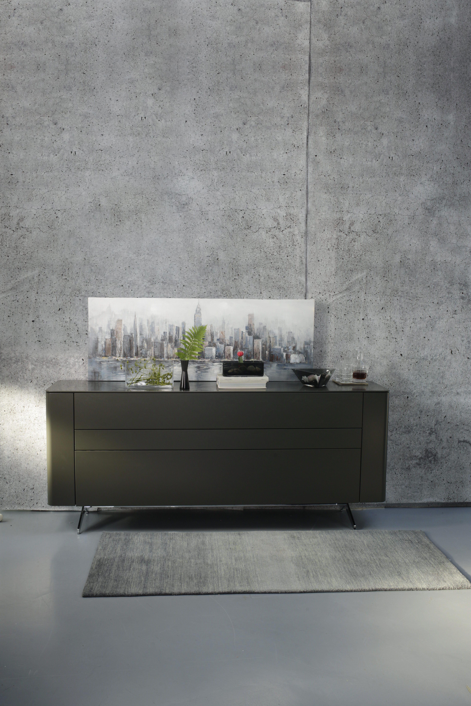Hulsta Sideboard Gentis In Grau Entdecken Hulsta Sideboard Sideboard Kommode Modern