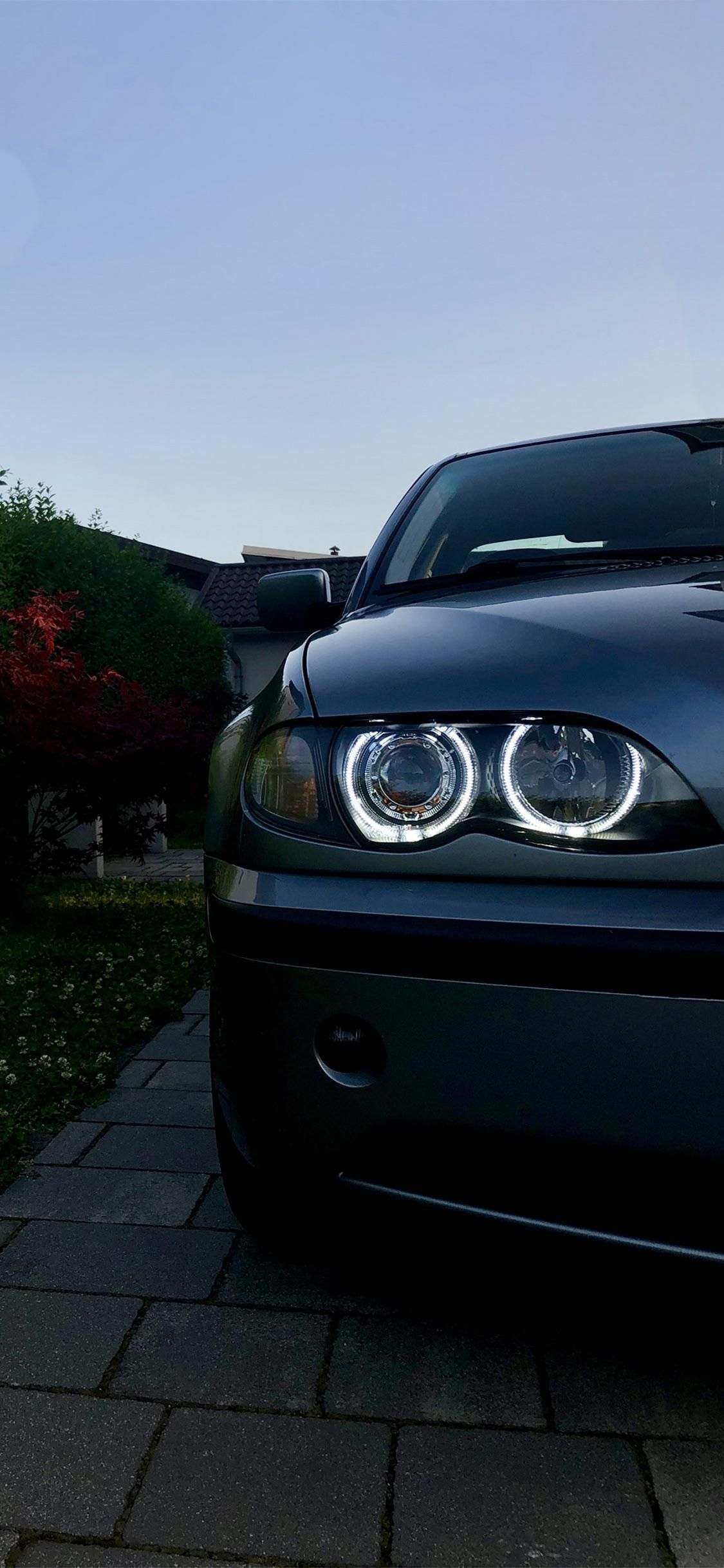 Just A Phone Wallpaper That I Shot Of My E46 Got The Angel Eyes