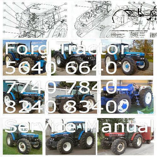 64fade966514b0fce27076c3e6a6ada7 ford tractor 5640 6640 7740 7840 8240 8340 service manual workshop ford tractor 6640 wiring diagram at couponss.co