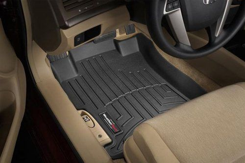WeatherTech Custom Fit Front FloorLiner for Mazda MX-5 Miata (Black) by WeatherTech