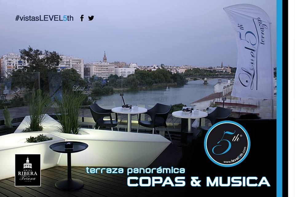 Level 5th Terrace Come And Enjoy The Sunset In Seville At One Of The Best Teeraces In The City Have A Drink At Level 5th Sur Terrace Seville Hotel Seville