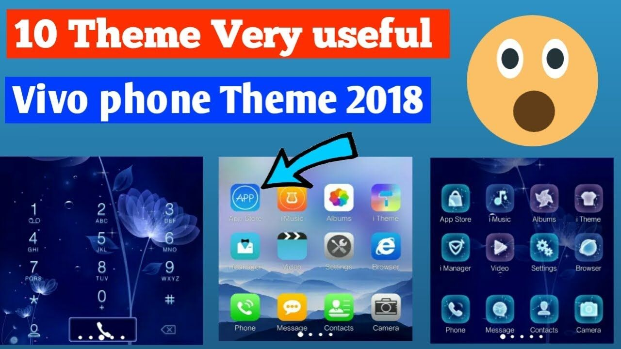 10 Vivo Theme New 2018 Apple Theme Vivo Phone GT Tricks Fun