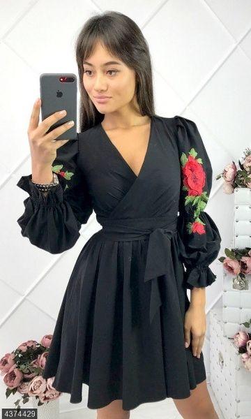 524786d50e384ae Короткие платья в интернет магазине Sosiska. Предлагаем Платье 4374429 Осень-Зима  2017 Украина по выгодной цене.