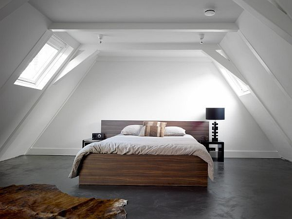 Fesselnd Modern Cool U0026 Fancy Funktional: 32 Attic Schlafzimmer Design Ideen #attic  #design #fancy #funktional #ideen #modern #schlafzimmer
