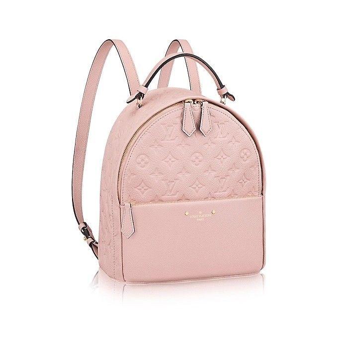 7ba55c9e1706f fashion LOUIS VUITTON BACKPACK SORBONNE MONOGRAM EMPREINTE ROSE POUDRE  TRENDY