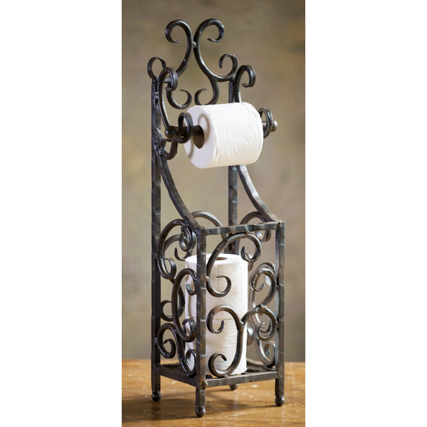 Siena Toilet Paper Holder By Bella Toscana Wrought Iron Decor Iron Decor Wrought Iron Furniture