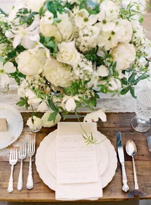 Crystal Cut Glassware / Wedding Style Inspiration / LANE