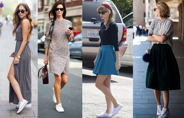 fe5725bfb faldas con tenis vans - Buscar con Google   Outfit   Falda con tenis ...
