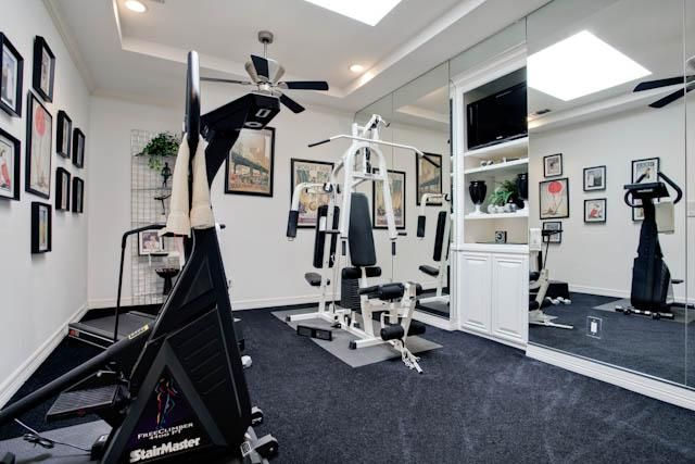 Search Dallas Texas Real Estate With Our Advanced Search Workout Room Home Home Gym Design Small Home Gyms