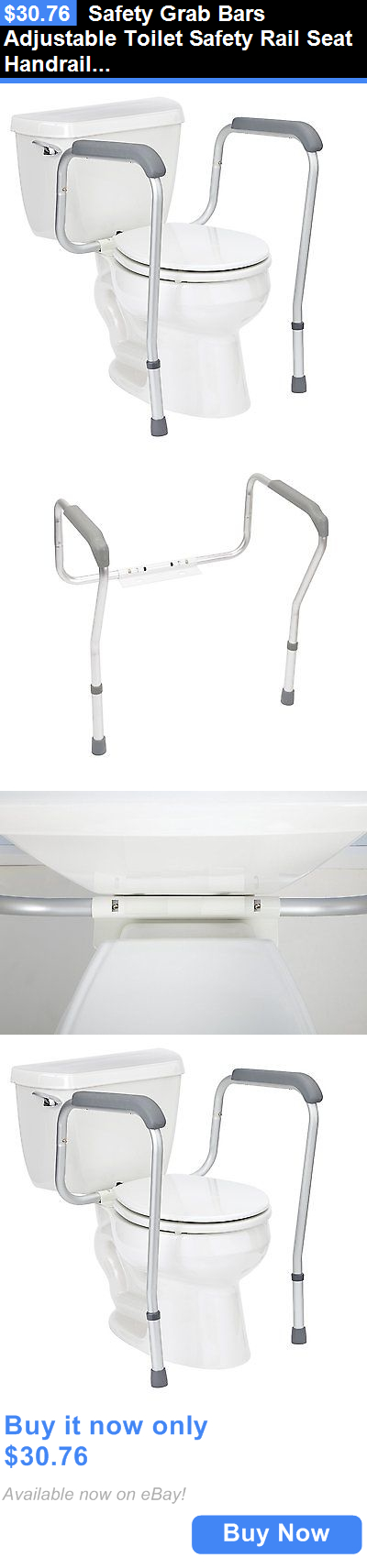 Other Accessibility Fixtures: Safety Grab Bars Adjustable Toilet ...