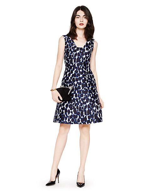 0f21884afdd leopard print fit and flare dress