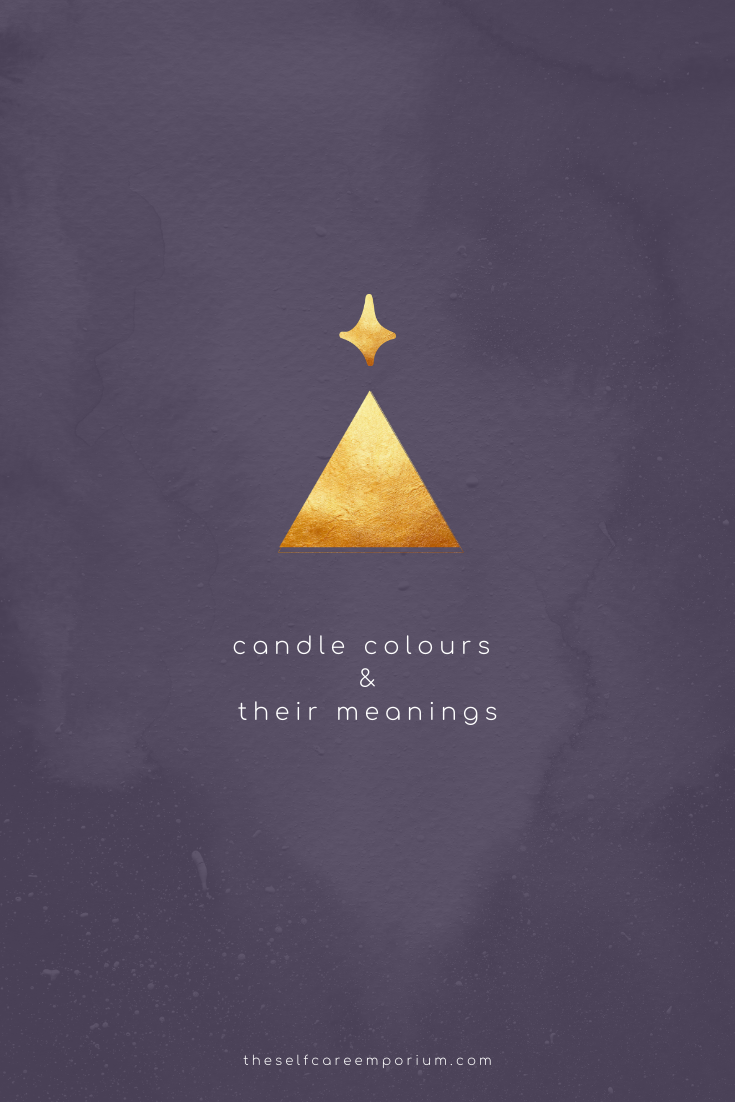 Candle Colours & Their Meanings - Find out which colour candle you need in order to manifest your inner most desires!   #candlemagic #candlemaking #wicca #spellwork #spells #candles #spiritual #candlecolormeanings