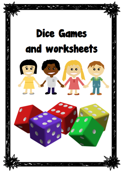 Dice Games and Worksheets --- This is a set of worksheets that can be used for whole number. - Numbers before and after: Tens more, ten less, one less, one more - Number facts (Great for patterns and algebra) - Addition and subtraction #reachingteachers