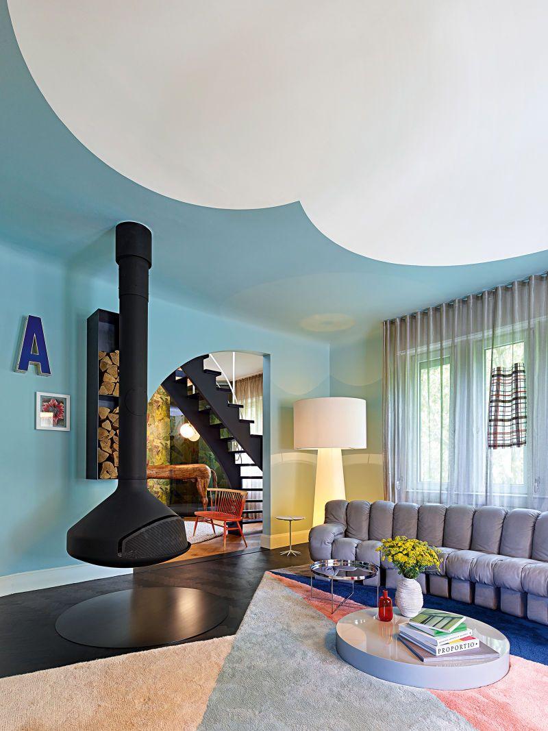 Bezaubernd Wohnzimmer Industrial Style Foto Von ·