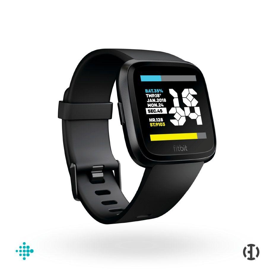 Fitbit Versa Panzer Watchface Fitbit Versa Smart Watch