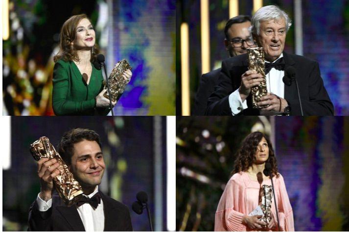 César 2017: Elle et Isabelle Huppert récompensés