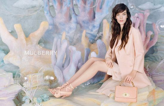 Mulberry Spring 2013: Meghan Collison photographed by Tim Walker.    Photos courtesy of Mulberry