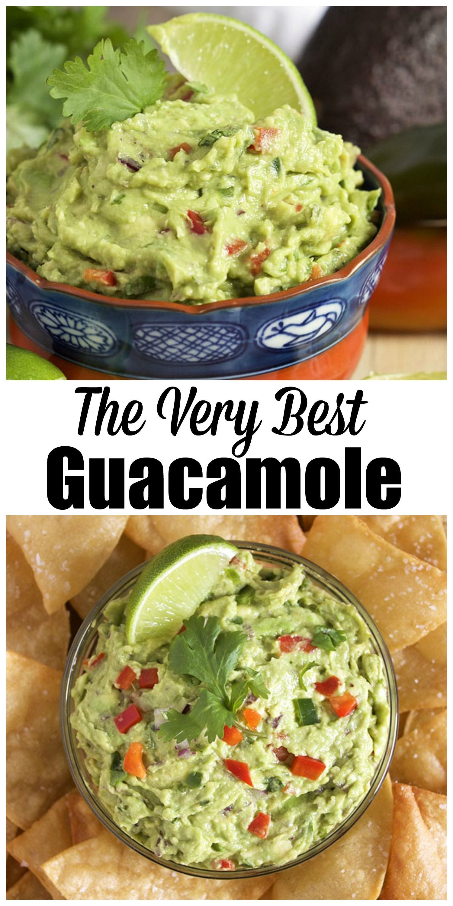 The Very Best Guacamole