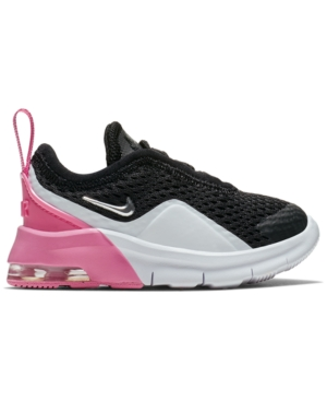 info for 6c092 400ec Nike Toddler Girls  Air Max Motion 2 Casual Sneakers from Finish Line -  Black 8