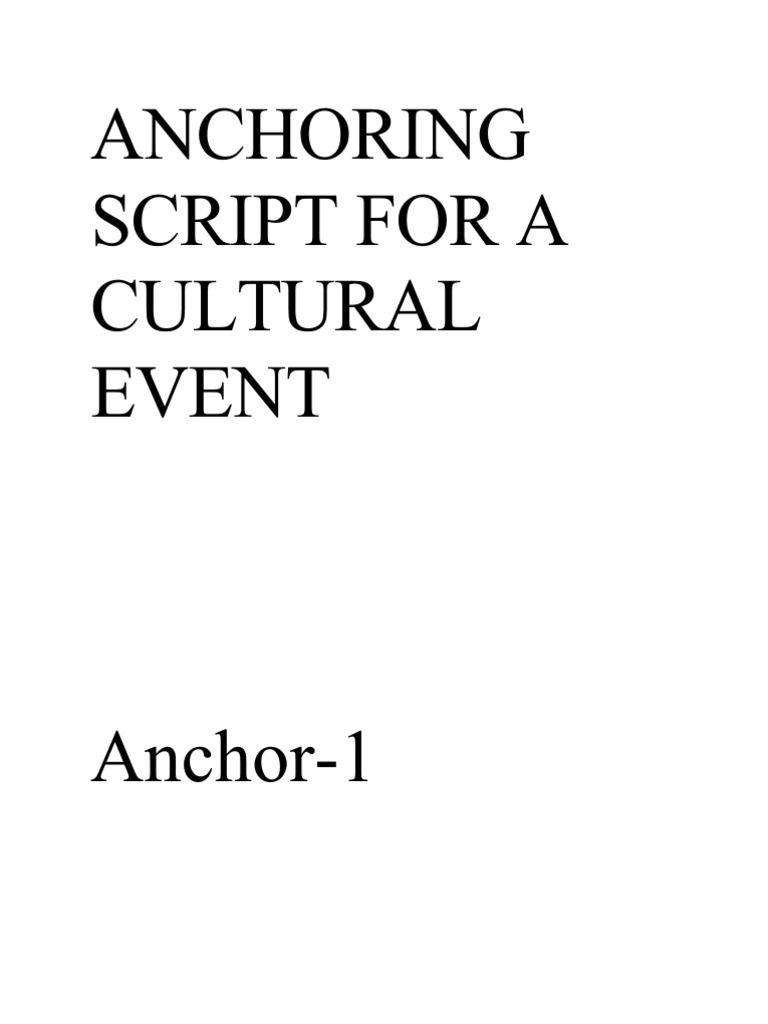 ANCHORING SCRIPT FOR A CULTURAL EVENT | shayari hindi