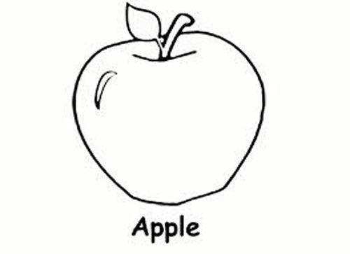 Free Printable Coloring Pages For Preschoolers Http Freecoloring Pages Org Free Pr Apple Coloring Pages Tree Coloring Page Preschool Coloring Pages