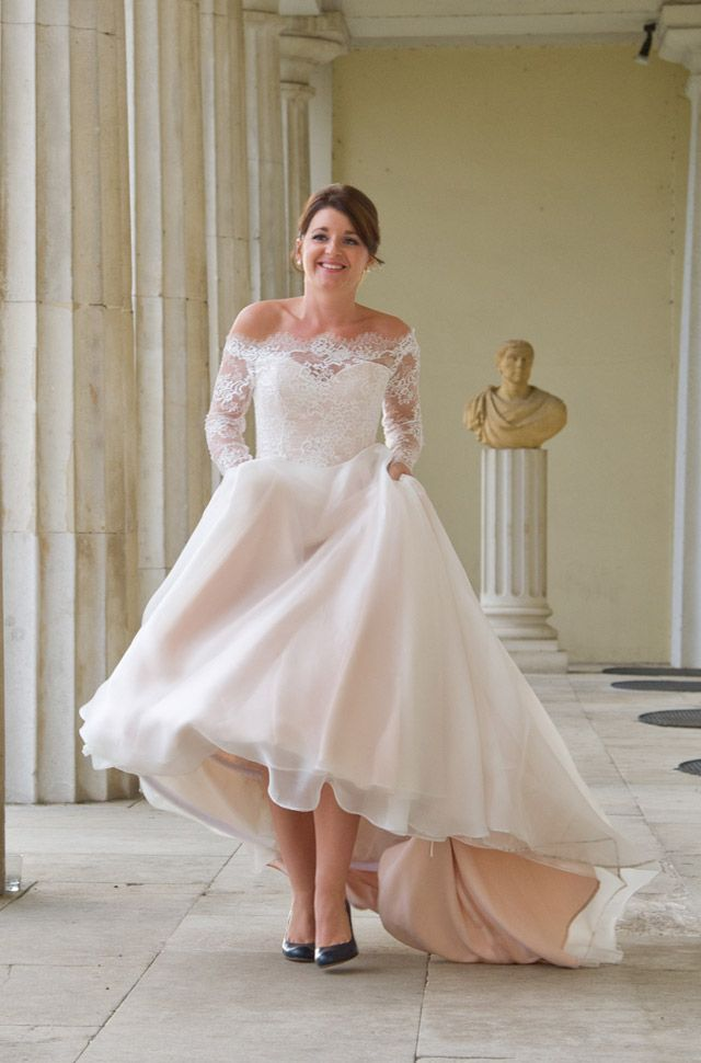 Pale Pink Wedding Dresses Uk